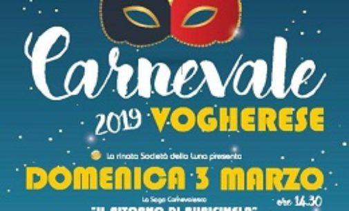 VOGHERA 26/02/2019: Domenica 3 Marzo il Carnevale in piazza Duomo