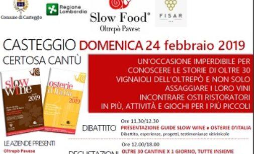 CASTEGGIO 05/02/2019: Osterie d'Italia e Wine. Una giornata alla Certosa in compagnia di Slow Food