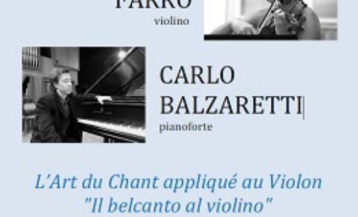 """VOGHERA 22/02/2019: Concerto per violino e piano. Gli Amici del Teatro Sociale: """"In vista della riapertura i cittadini devono abituarsi a pagare un biglietto"""""""