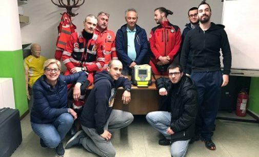 VARZI VOGHERA 27/02/2019: Grazie alla Cri di Voghera un nuovo defibrillatore sull'ambulanza in servizio a Varzi