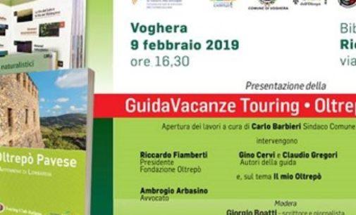 VOGHERA 06/02/2019: Nata la prima guida del Touring Club dedica all'Oltrepò Pavese. Sabato in Biblioteca