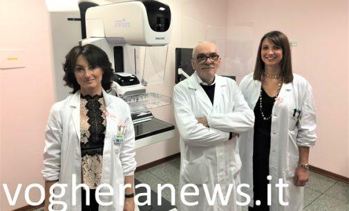 VOGHERA 27/02/2019: Medicina di genere. Da Aprile mammografia ed ecografia al seno (e Moc) tutti in un'unica seduta e con referto immediato