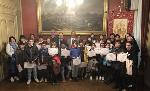 VOGHERA 29/03/2019: Oggi il Consiglio comunale dei ragazzi con l'istituto delle suore Benedettine