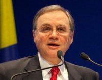 BRONI 13/03/2019: Il Governatore della Banca d'Italia Visco all'inaugurazione della rinnovata scuola dedicata a Paolo Baffi
