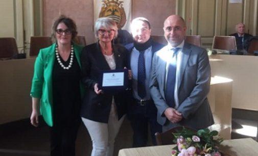 VOGHERA 11/03/2019: Consegnato ad Angela Moneta il premio Maria Montessori
