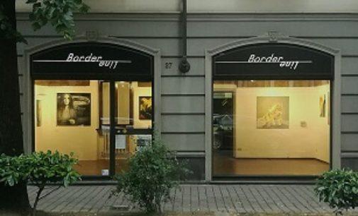 VOGHERA 09/03/2019: La personale di Edi Brancolini oggi Galleria Border Line