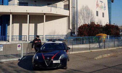 VOGHERA 26/03/2019: Furto nella notte al PalaOltrepò. Carabinieri arrestato 31enne e recuperano i notebook in uso ai giudici della gare di Karate in corso nella struttura
