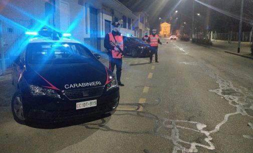 SANNAZZARO DE' BURGONDI 02/03/2019: Controlli straordinari dei Carabinieri della Compagnia di Voghera. Denunciati 2 trentenni