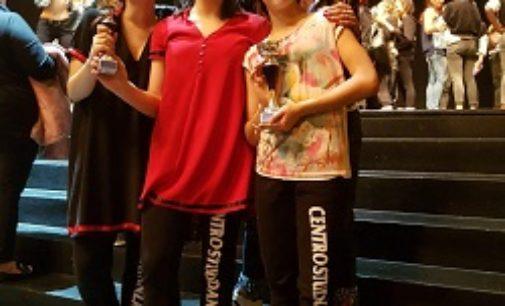 VOGHERA 11/03/2019: Brillanti risultati delle danzatrici vogheresi al concorso nazionale Spazio in danza