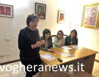 VOGHERA 07/03/2019: Per un 8 Marzo contro la violenza di genere. Alla Sala Pagano una mostra/installazione dell'associazione CHIARA con i dipinti dei detenuti