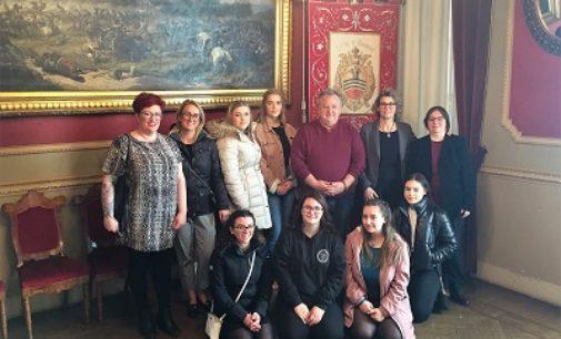 VOGHERA 14/03/2019: Erasmus porta in città 6 studenti inglesi
