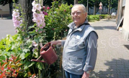 VOGHERA 09/06/2020: Mesi di calvario per l'ex carabiniere ('nonno giardiniere') Guido Schiavo. Ricoverato in Ospedale ora è a Salice in riabilitazione
