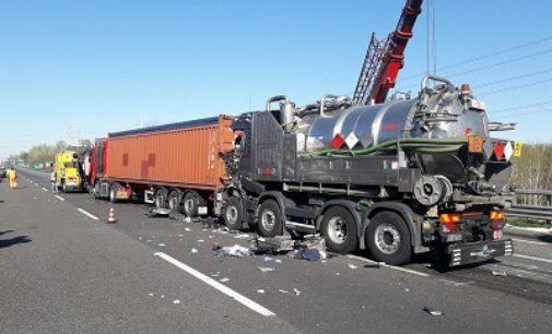 VOGHERA 26/03/2019: Tamponamento sulla A7. Grave un 38enne. Intervengono i pompieri. Due vogheresi ferite in un altro incidente sulla medesima autostrada