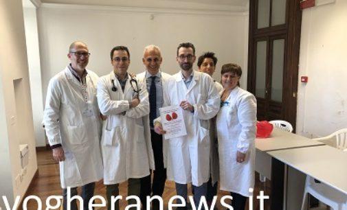 VOGHERA 15/03/2019: Giornata mondiale del rene. Più di 100 i vogheresi che hanno fatto i controlli gratuiti voluti dall'Ospedale Civile. Il 15% invitato a fare approfondimenti