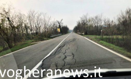 """BRESSANA CASATISMA 17/03/2019: Fine dei salti da giostra """"Tagadà"""" sulla Sp35. Da domani cantieri stradali anche sul cavalcavia di Bressana"""