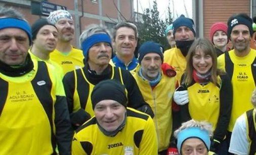 VOGHERA 18/11/2019: L'Us Scalo Voghera al cross di Robbio nel parco Valpometto