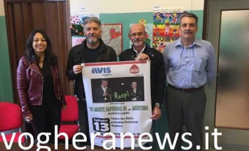 """VOGHERA 08/04/2019: Beneficenza. Avis e Aido insieme con """"I Rospi"""" sul paco del san Rocco"""