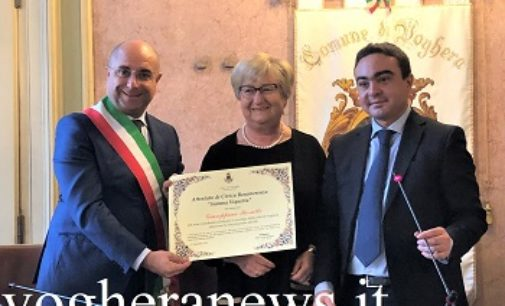 VOGHERA 17/04/2019: Ospedale. Giuseppina Borutti ancora direttrice di Neurologia