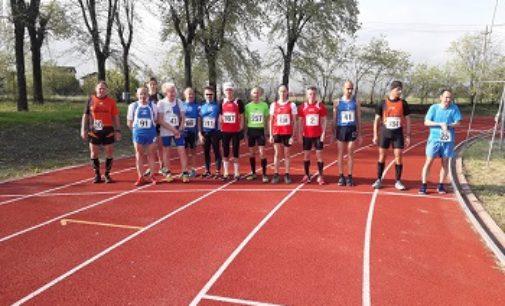 VOGHERA 15/04/2019: Atletica. Al Campo Giovani il primo atto del Campionato provinciale Uisp su pista
