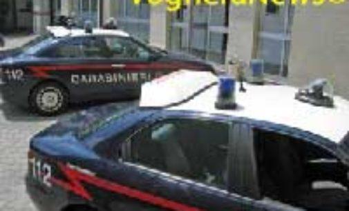 VIDIGULFO CERANOVA LANDRIANO 15/04/2019: Controlli dei carabinieri. Scattano 5 denunce