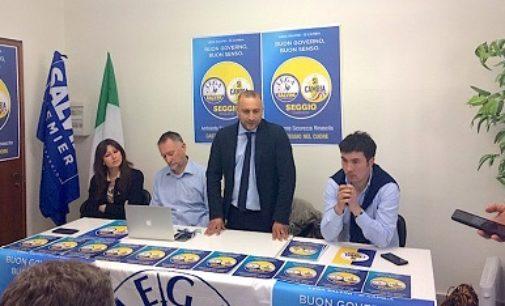 """CASTEGGIO 14/04/2019: Elezioni. E' Seggio il candidato per la Lega. """"Una lista di brave persone per restituire al paese una dignità"""""""
