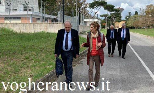 PAVIA VOGHERA 15/04/2019: Il presidente del Cncan romeno all'Enea Roma e a Pavia. Procede il progetto di medicina nucleare che vede in prima linea la società del vogherese Achille Cester