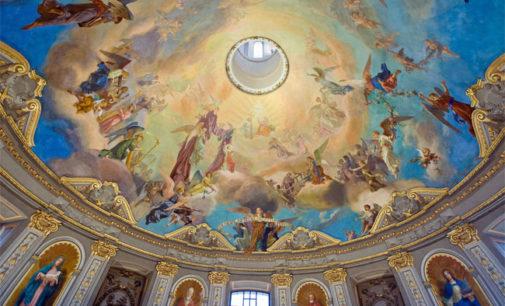 """VOGHERA 11/04/2019: Duomo. Alla scoperta degli affreschi. Domani visita guidata con il restauratore Pontiroli. Sarà proiettato il video degli affreschi girato con il """"drone"""""""