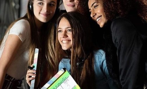 """VOGHERA 19/04/2019: Vogherese il nuovo volto della campagna pubblicitaria dei biscotti """"Ringo"""". E' la 17enne Felicia Faller"""