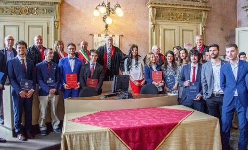 VOGHERA 11/04/2019: In 14 si laureano a Palazzo Gounela in Scienze Tecniche dello Sport e in Scienze Motorie