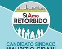RETORBIDO 23/04/2019: Elezioni. Il candidato sindaco Girani domani presenta la lista