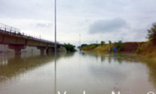 VOGHERA 03/04/2019: Sottopasso Nenni. Sostituite le pompe di sollevamento dell'acqua
