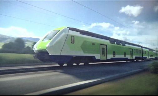 REGIONE 17/04/2019: Trasporti. Presentato a Milano 'Caravaggio'. Il nuovo treno per i pendolari del 2020. Entrerà in servizio a maggio dell'anno prossimo