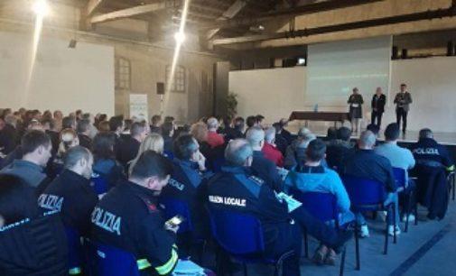 VOGHERA 09/04/2019: Polizia locale iriense al convegno a Vigevano sulle novità della normativa viabilistica