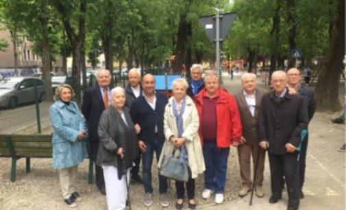VOGHERA 13/05/2019: Nuovi giochi al parco Pertini. Sono un dono del Rotary per ricordare il farmacista Gandini