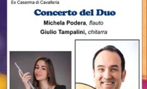 VOGHERA 09/05/2019: Chitarrorchestra. Sabato il concerto del duo Podera Tampalini