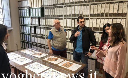 VOGHERA 23/05/2019: L'Archivio Storico mèta di lezioni dell'Università di Pavia. Per promuoverlo ora si pensa anche alla sbarco su facebook