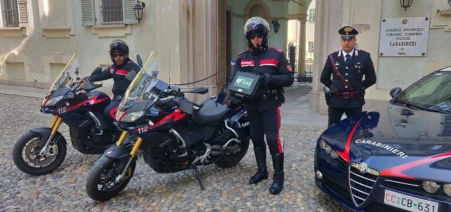 carabinieri pavia defibrillatori
