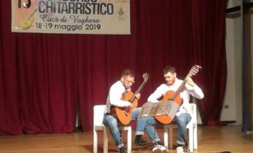 VOGHERA 29/05/2019: 15° Concorso Chitarristico. I vincitori. Bene il duo  locale Civini Di Caccamo