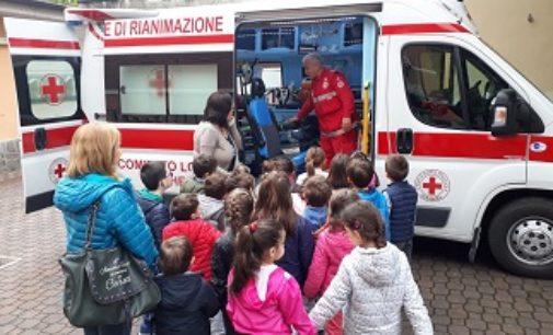 VOGHERA 10/05/2019: Croce Rossa. Le scuole visitano l'associazione. In sede festeggiata anche Santa Caterina