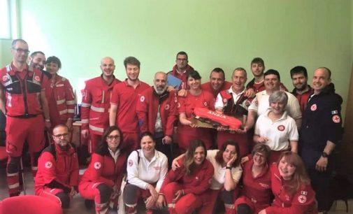 VOGHERA 28/05/2019: Croce Rossa. Pronti i nuovi Operatori Polivalente di Salvataggio in acqua. In 6 hanno superato il corso