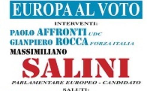 VOGHERA 09/05/2019: Elezioni europee. Stasera incontro di Udc e FI con il candidato Salini
