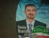 BRESSANA 22/05/2019: Elezioni. Manifesti dell'IdR strappati anche a Bressana