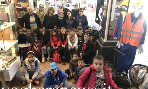 VOGHERA 22/05/2019: Museo Ferroviario. Oggi in visita alla storica collezione gli alunni della 2^C della De Amicis