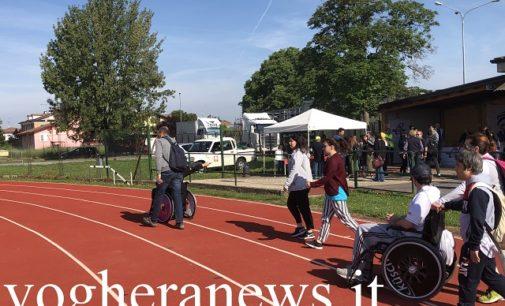 """VOGHERA 26/05/2019: Successo per le prime """"Paralimpiadi"""". Più di 60 i ragazzi diversamente abili provenienti da tutta la provincia in gara al Campo Giovani"""