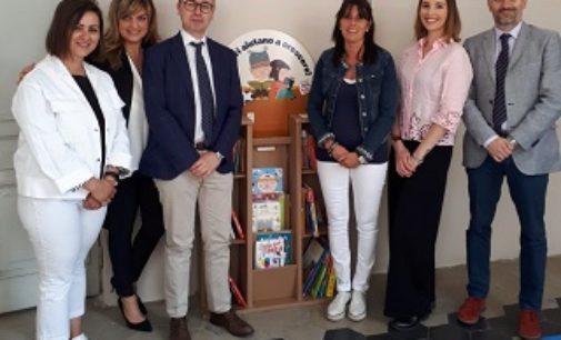 """VOGHERA 27/05/2019: Scuola. Alla Pascoli inaugurato il nuovo """"spazio biblioteca-lettura"""""""