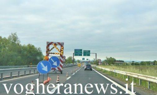 PAVIA 12/09/2019: Venerdì nuova chiusura per lavori di un tratto della (A54) Tangenziale Ovest