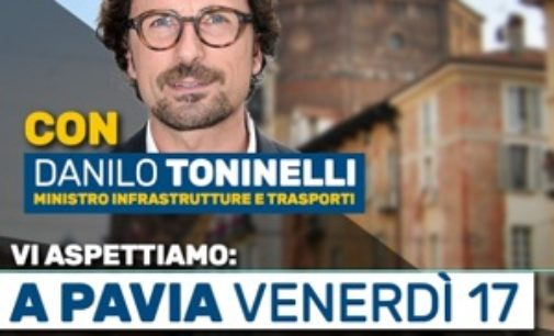 LINAROLO 16/05/2019: Ponte della Becca. Il ministro Toninelli in visita al ponte malato