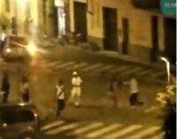 VOGHERA 27/05/2019: Maxi rissa fra immigrati. Minuti di guerriglia urbana ieri sera in via Matteotti