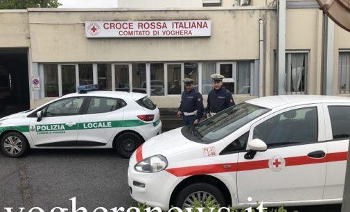 VOGHERA 08/05/2019: Quarantenne ruba un'auto della Croce Rossa. Incredibile la motivazione del gesto. L'uomo rintracciato dalla Polizia locale e denunciato