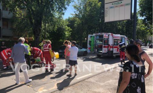 VOGHERA 17/6/2019: Più grave del previsto la pensionata travolta ieri in via Lomellina. Portata d'urgenza al Policlinico di Pavia